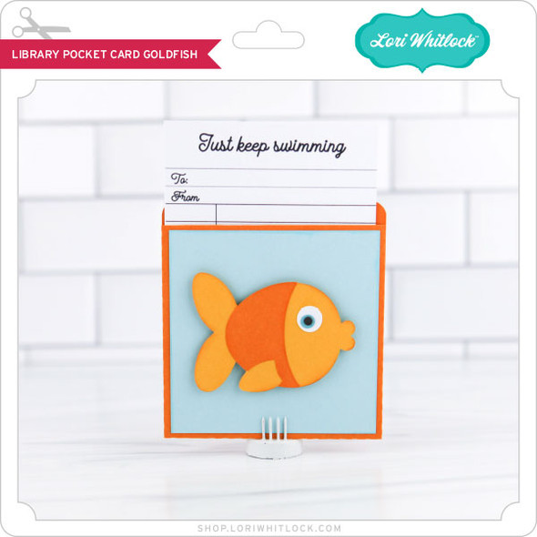 LIbrary Pocket Card Goldfish