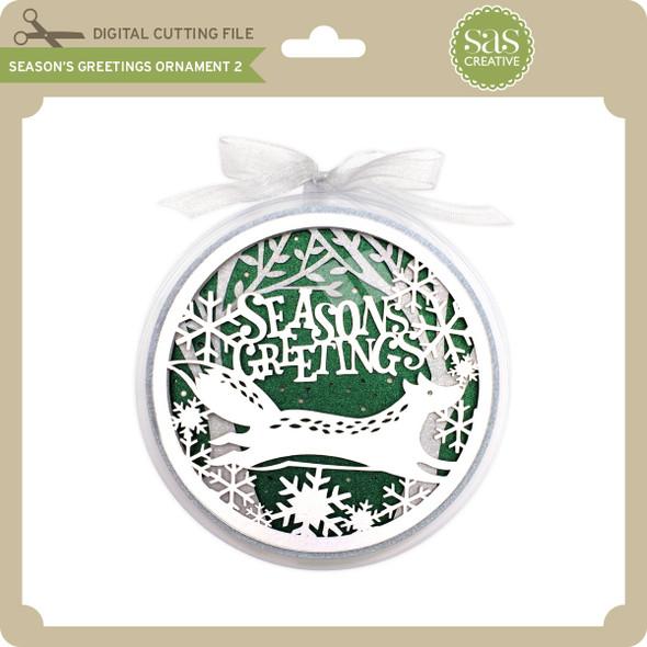Season's Greetings Ornament 2