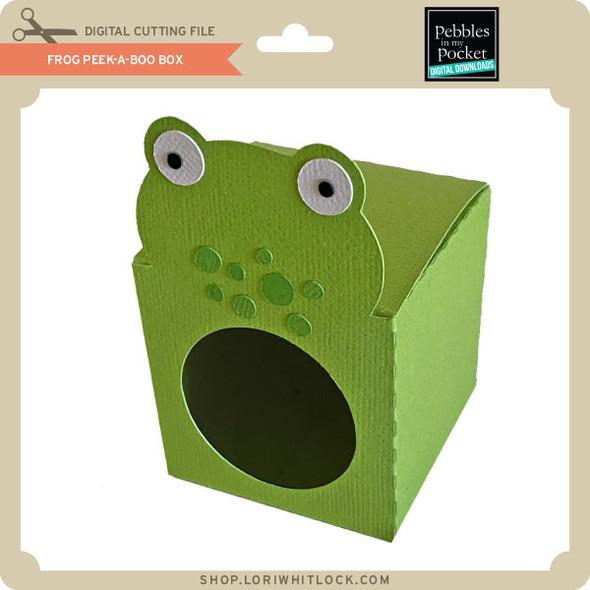 Frog Peek-A-Boo Box