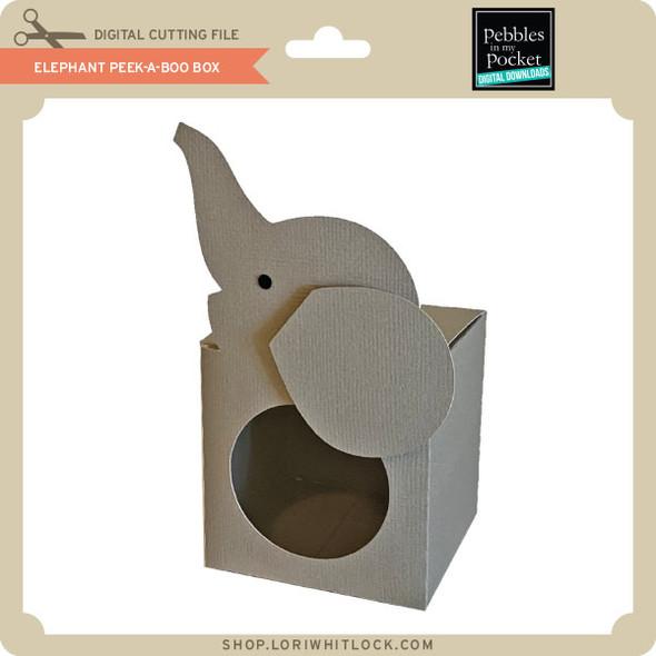 Elephant Peek-A-Boo Box