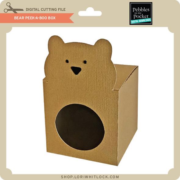 Bear Peek-A-Boo Box