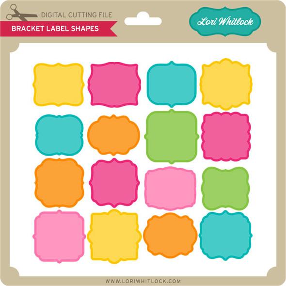 Bracket Label Shapes
