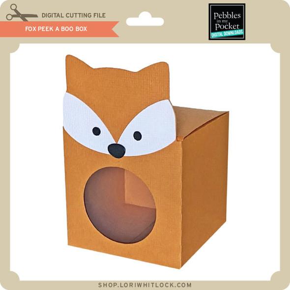 Fox Peek A Boo Box