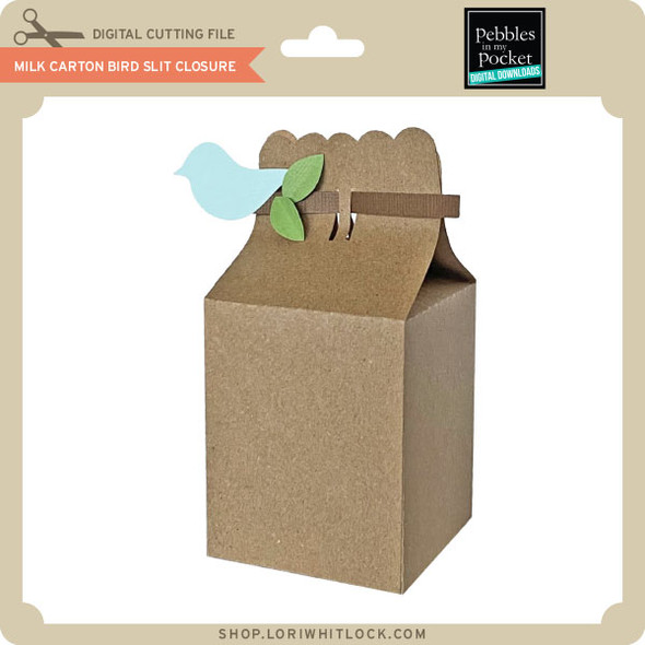 Milk Carton Bird Slit Closure