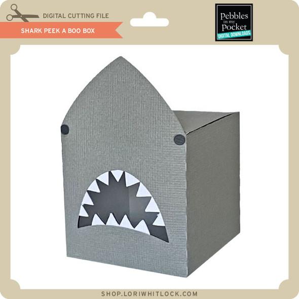 Shark Peek A Boo Box