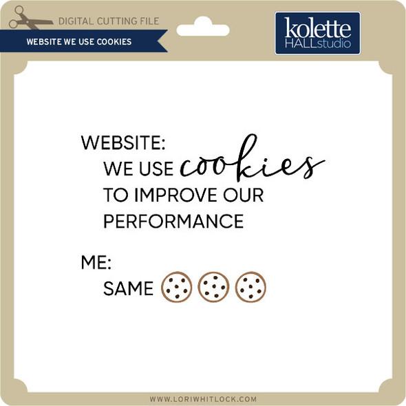 Website We Use Cookies
