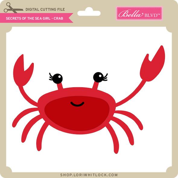 Secrets of the Sea Girl - Crab