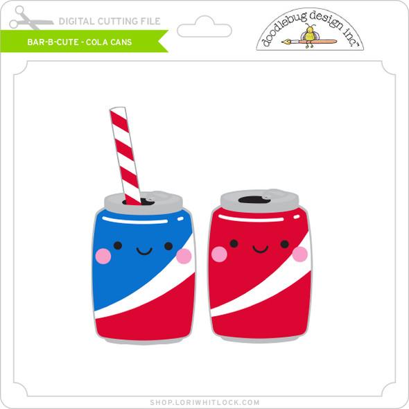 Bar B Cute - Cola Cans