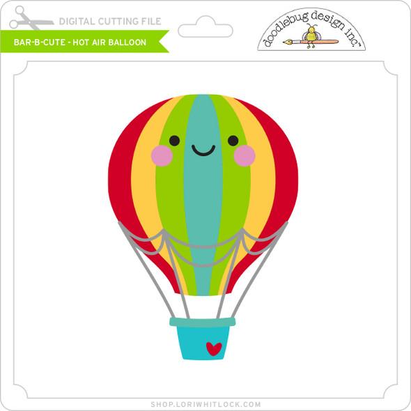 Bar B Cute - Hot Air Balloon