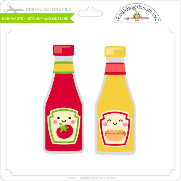 Bar B Cute - Ketchup and Mustard