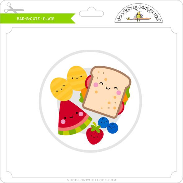 Bar B Cute - Plate