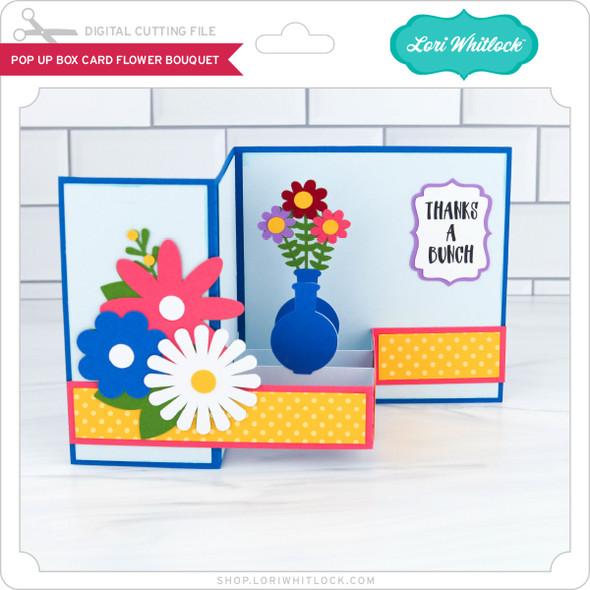 Pop Up Box Card Flower Bouquet