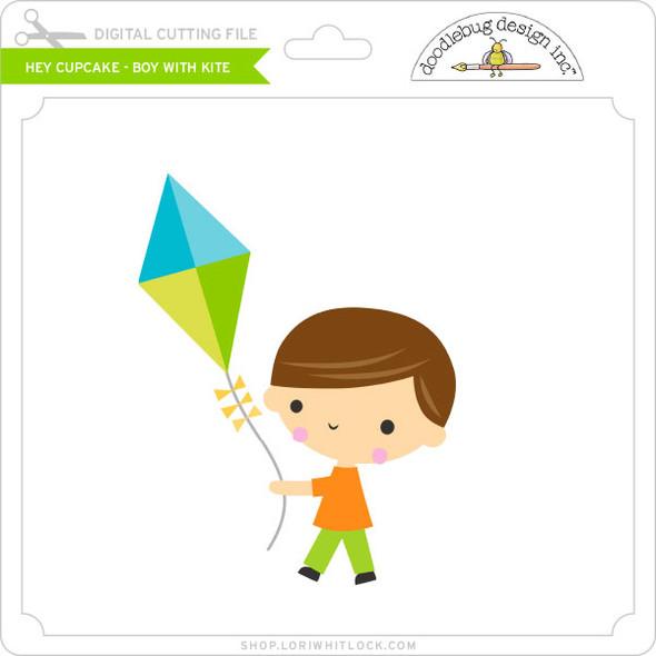 Hey Cupcake - Boy with Kite