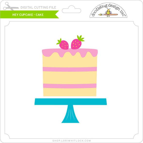 Hey Cupcake - Cake