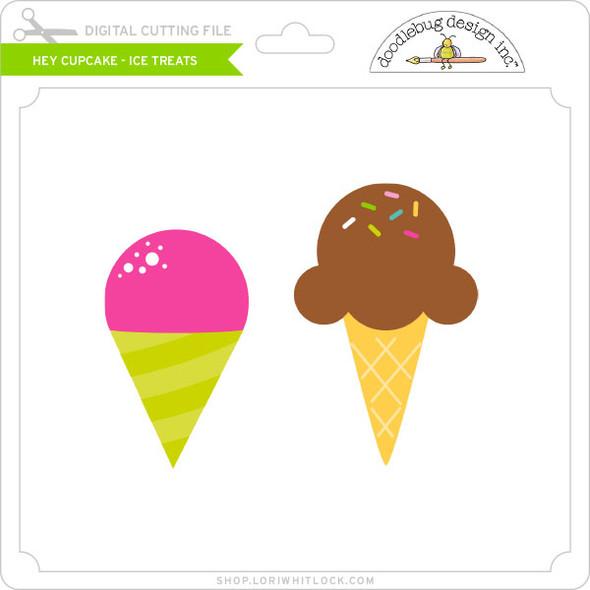 Hey Cupcake - Ice Treats