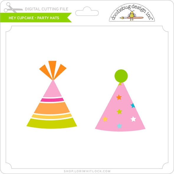 Hey Cupcake - Party Hats
