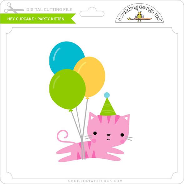 Hey Cupcake - Party Kitten
