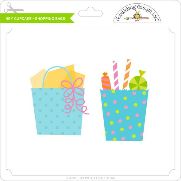 Hey Cupcake - Shopping Bags