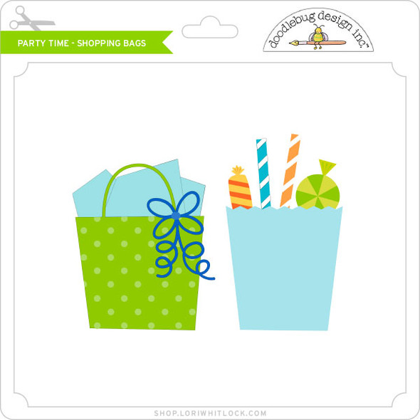 Party Time - Shopping Bags