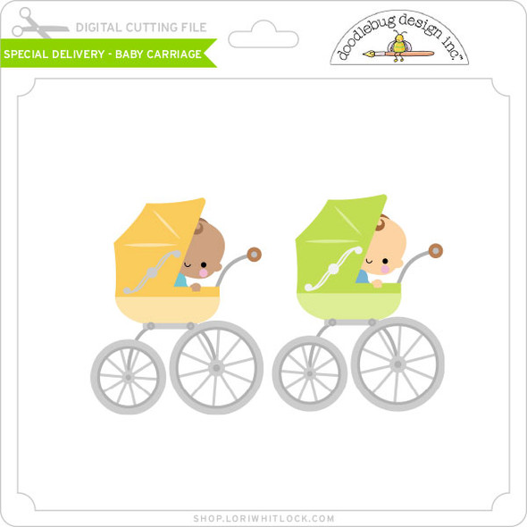 Special Delivery - Baby Carriage