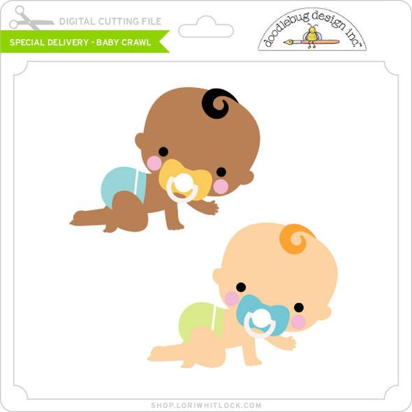 Special Delivery - Baby Crawl