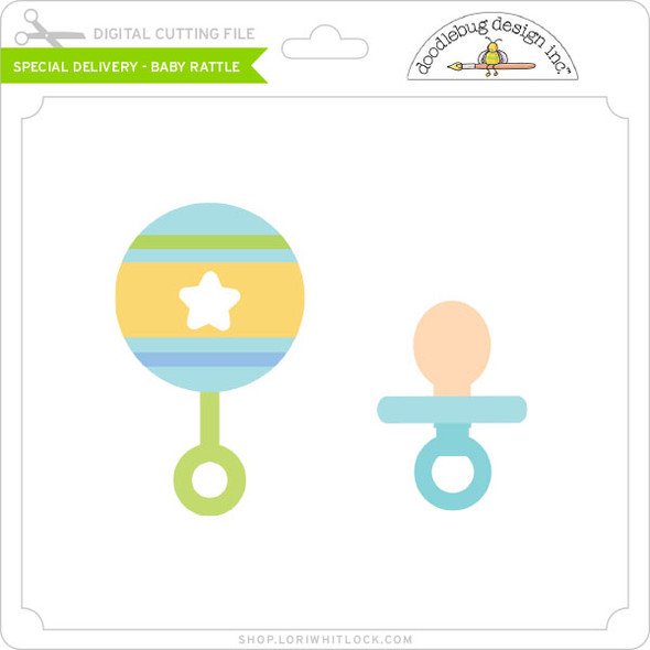 Special Delivery - Baby Rattle