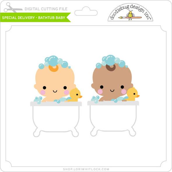 Special Delivery - Bathtub Baby