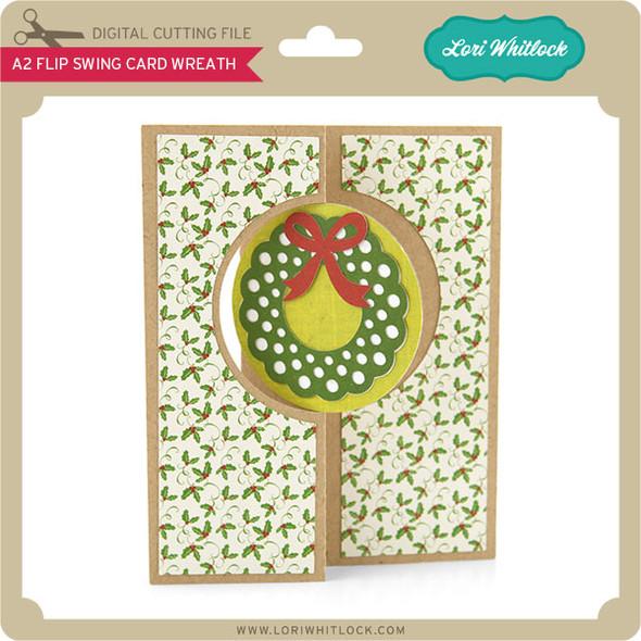 A2 Flip Swing Card Wreath