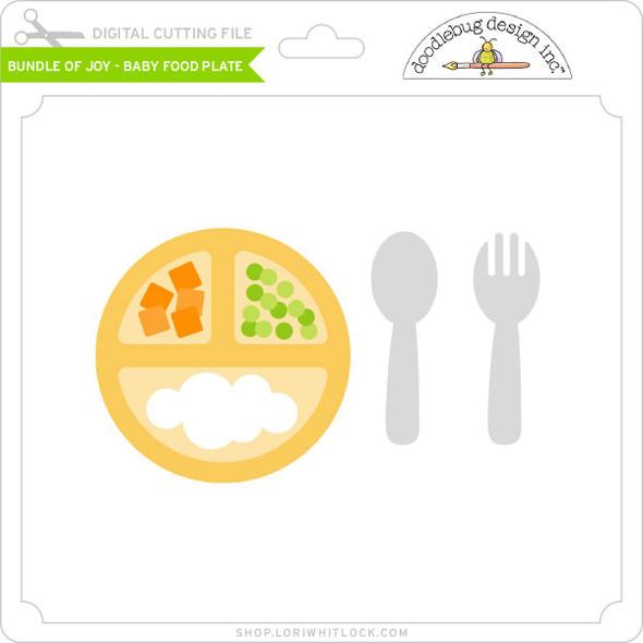 Bundle of Joy - Baby Food Plate