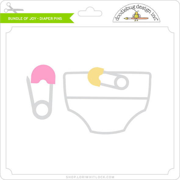 Bundle of Joy - Diaper Pins