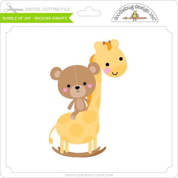 Bundle of Joy - Rocking Giraffe