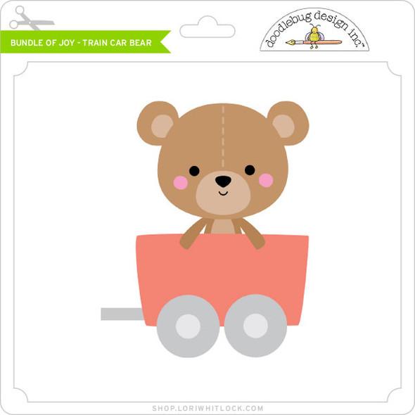 Bundle of Joy - Train Car Bear