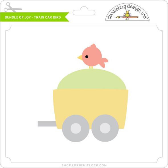 Bundle of Joy - Train Car Bird