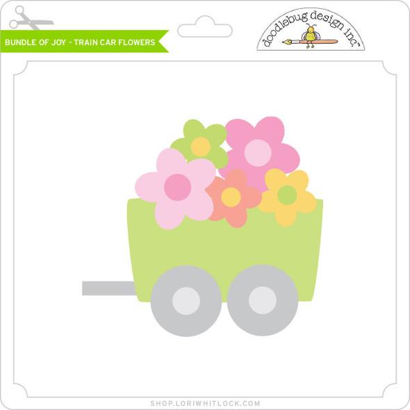 Bundle of Joy - Train Car Flowers