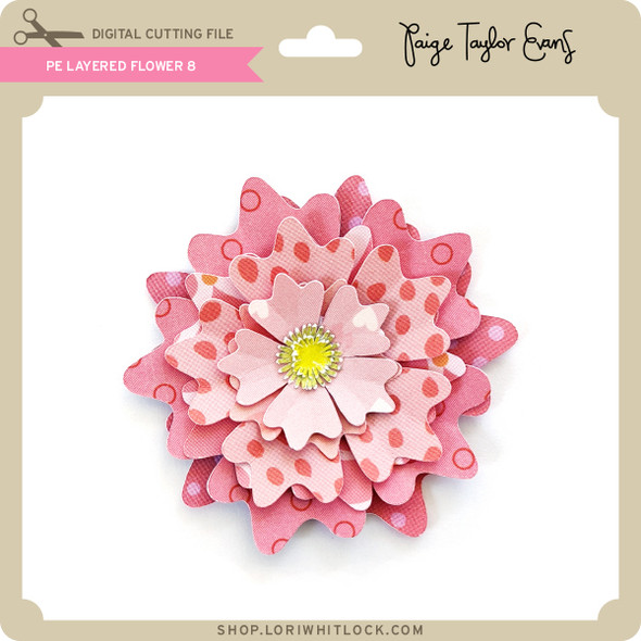 PE Layered Flower 8
