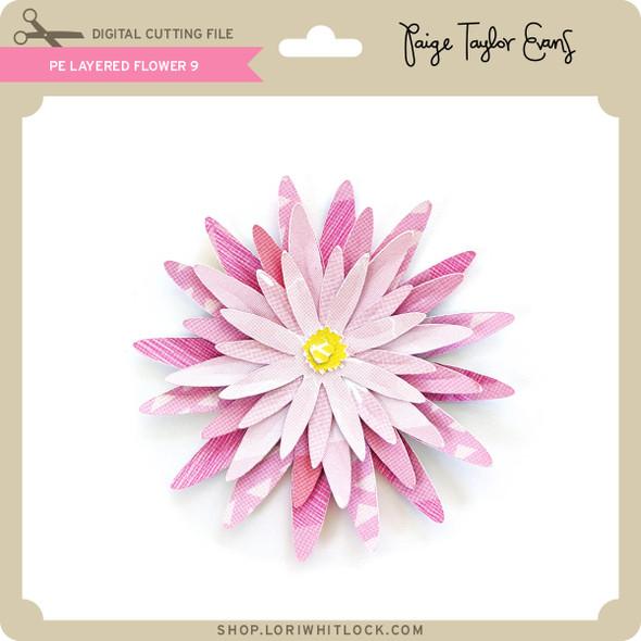 PE Layered Flower 9
