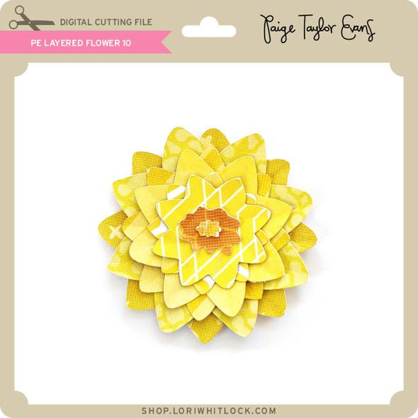 PE Layered Flower 10