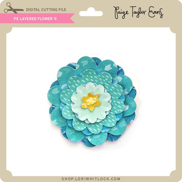 PE Layered Flower 11