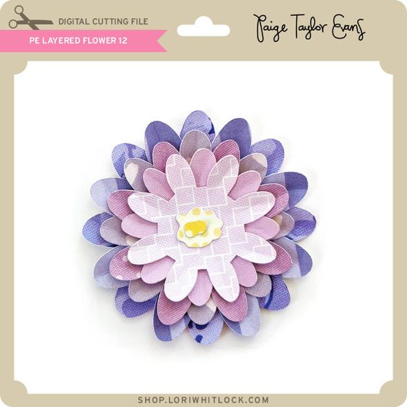 PE Layered Flower 12