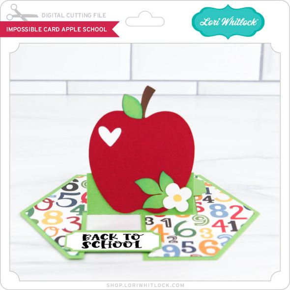 Impossible Card Apple School