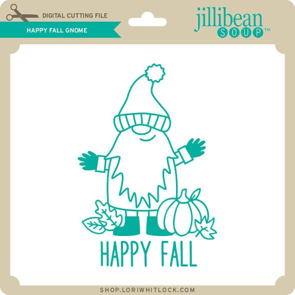 Happy Fall Gnome