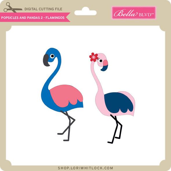 Popsicles and Pandas 2 - Flamingos