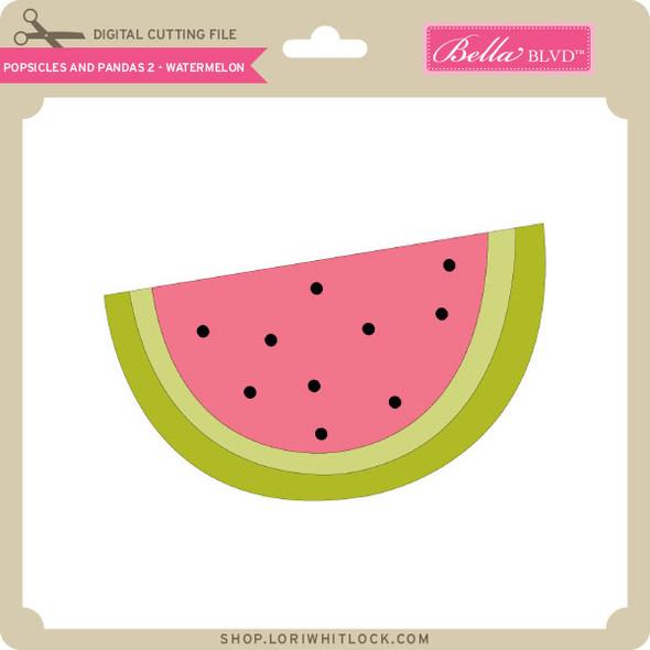 Popsicles and Pandas 2 - Watermelon