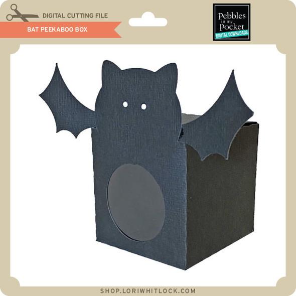 Bat Peek A Boo Box