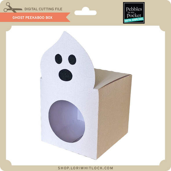 Ghost Peek A Boo Box