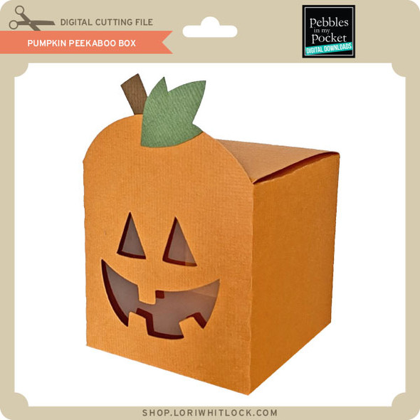 Pumpkin Peek A Boo Box