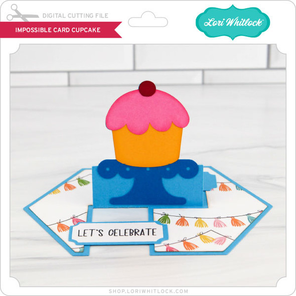 Impossible Card Cupcake