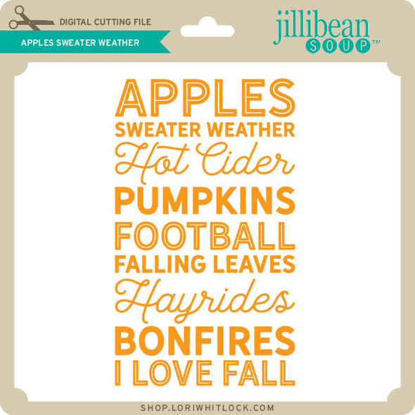 Apples Sweater Weather