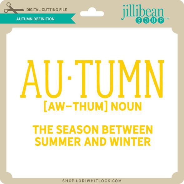 Autumn Definition