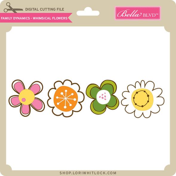 Family Dynamics - Whimsical Flowers